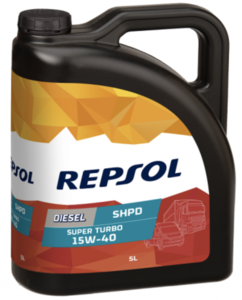 Repsol diesel super turbo shpd 15w40 Фото 1