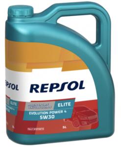 Repsol elite evolution power 4 5w30 Фото 1