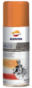 Repsol moto brake & parts contact cleaner Фото 1