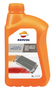 Repsol moto coolant & antifreeze 50 Фото 1