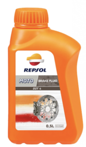 Repsol moto dot 4 brake fluid Фото 1