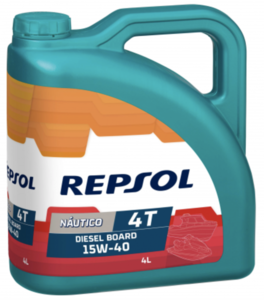 Repsol nautico diesel board 4t 15w40 Фото 1